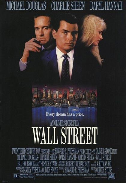 il consulente finanziario non è necessariamente come Micheal Duglas o Charlie Sheen, in questa locandina...